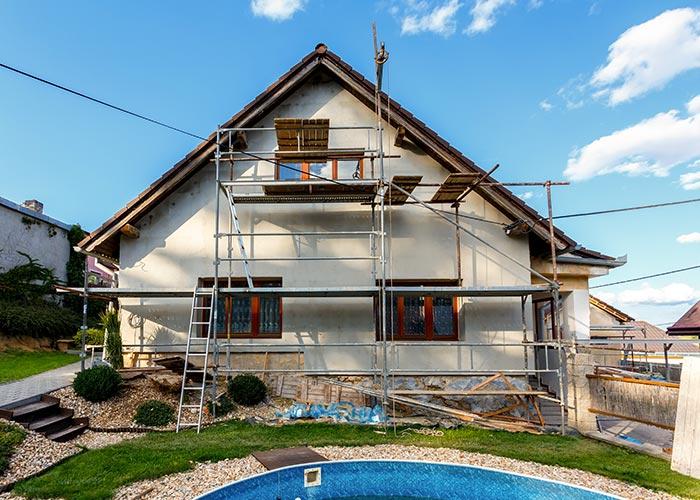 Rénovation de maison à Coutras